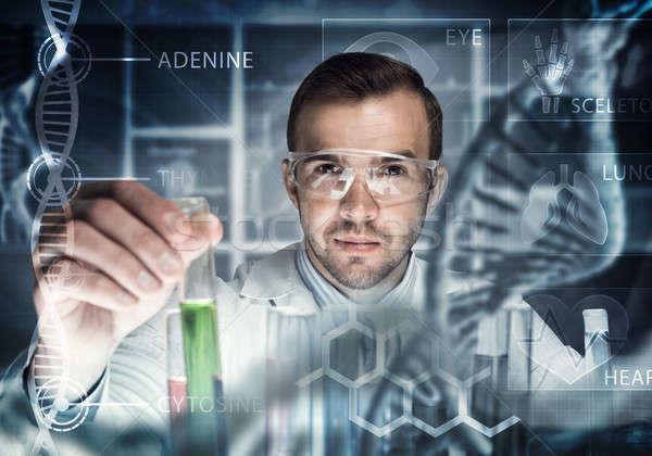 小さな 科学 ガラス 臨床の 室 ストックフォト © adam121