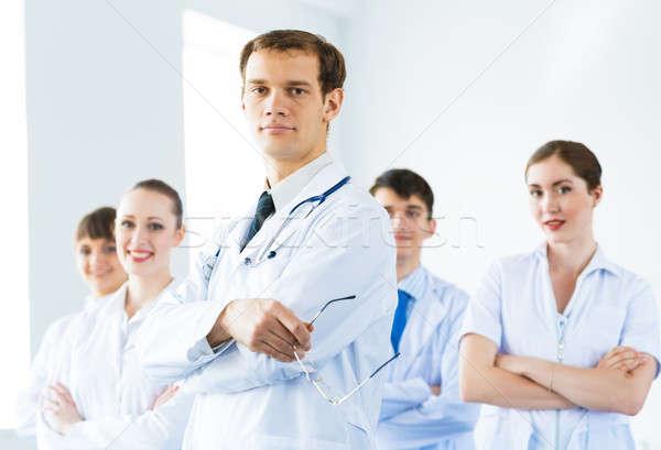Equipe médicos experiente qualificado negócio Foto stock © adam121