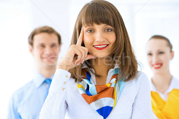 portrait of a successful business woman Stock photo © adam121