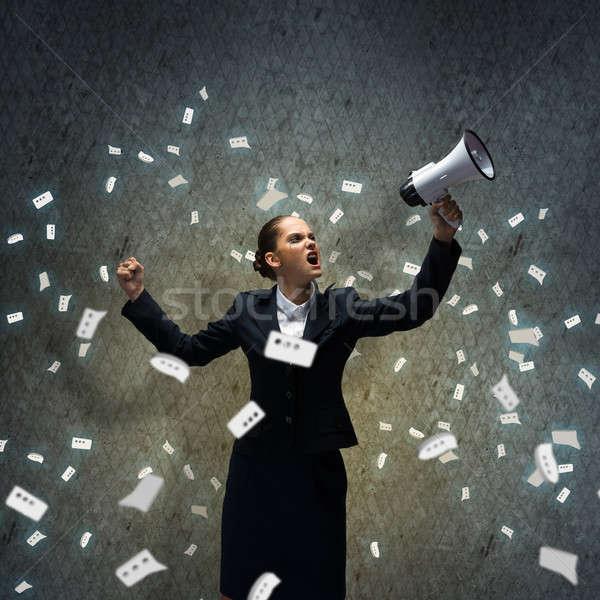 Aggressive management Stock photo © adam121