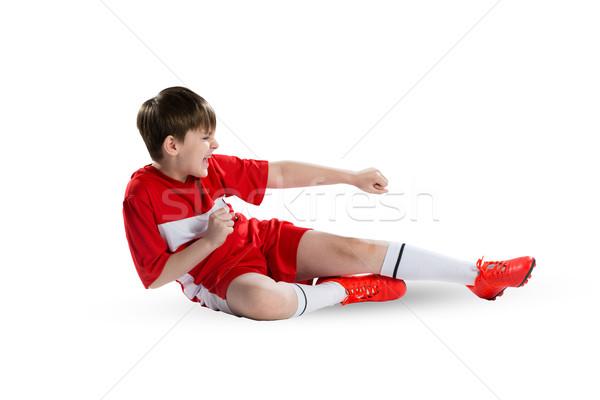 Young footballer Stock photo © adam121