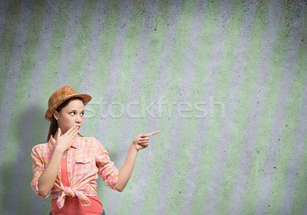 Female teenager Stock photo © adam121
