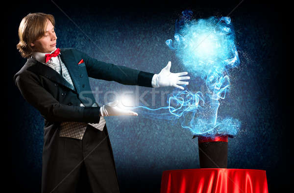 Mágico magia fora seis Foto stock © adam121