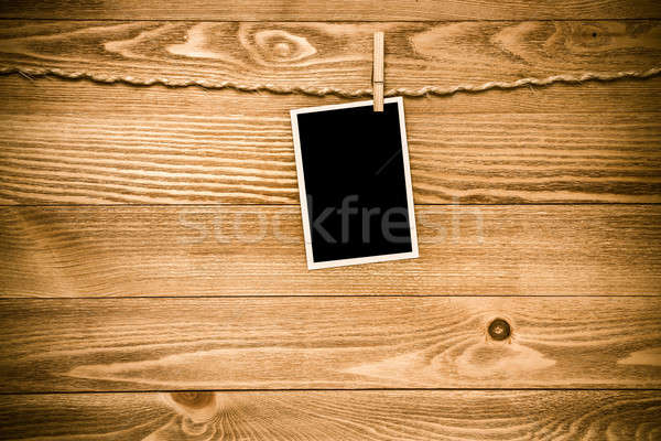 Black photo frame Stock photo © adam121