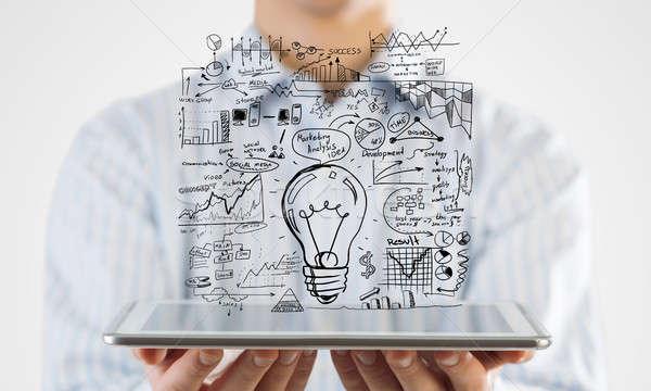Idea for E-business Stock photo © adam121