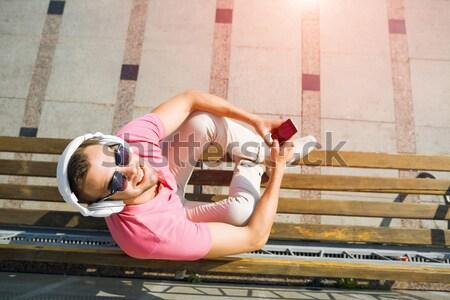 лет уик-энд улице Top мнение молодые Сток-фото © adam121