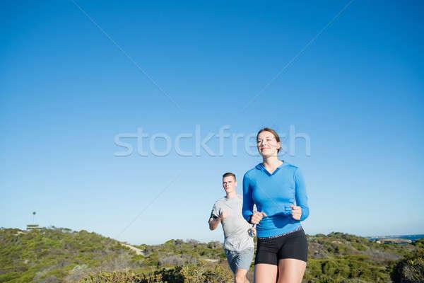 Morning run Stock photo © adam121