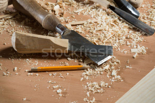 Carpenter's tools Stock photo © adam121