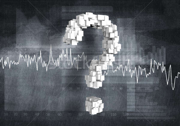 Question of financial growth Stock photo © adam121