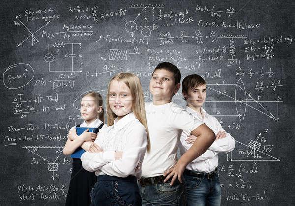 Avenir profession enfants école âge Photo stock © adam121