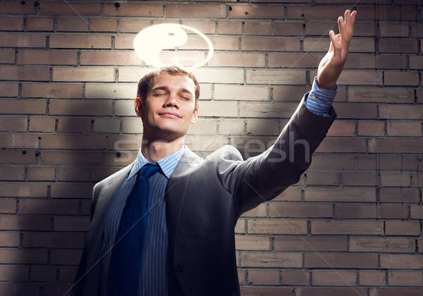 Saint businessman Stock photo © adam121