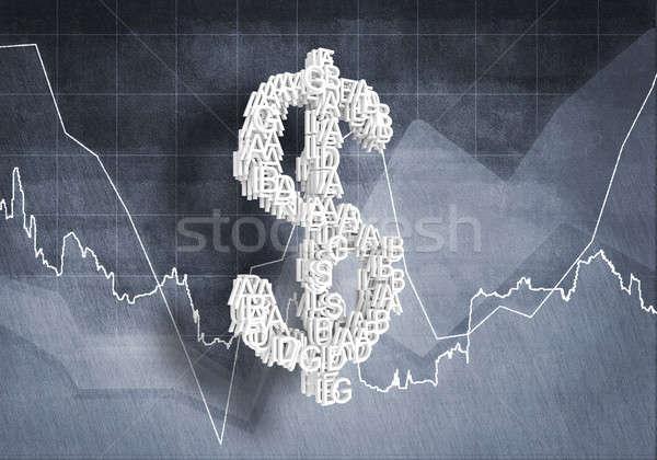 доллара валюта большой символ Сток-фото © adam121