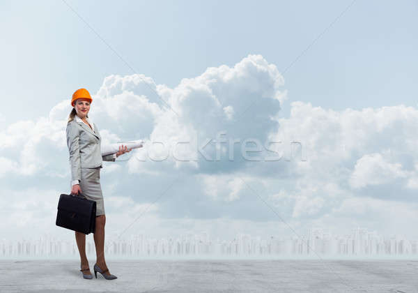 Female engineer Stock photo © adam121