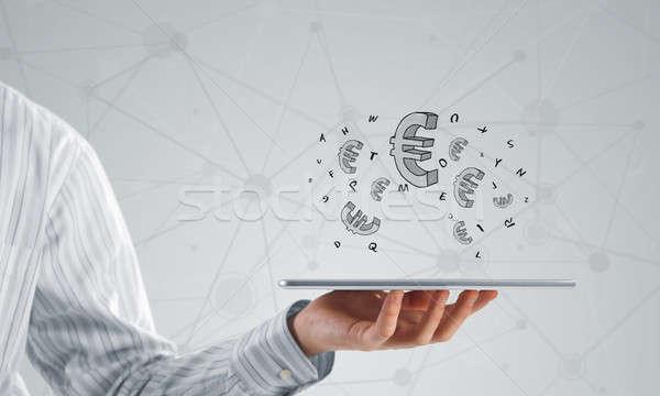 Stock photo: Earn your money online