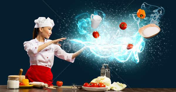 magic in the kitchen Stock photo © adam121