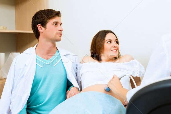 pregnant woman and the future father Stock photo © adam121