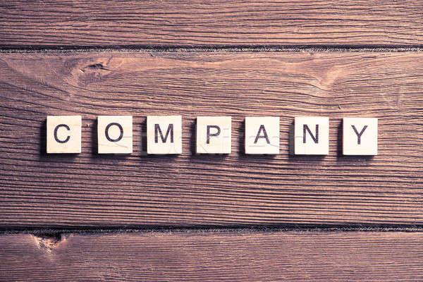 Business bedrijf corporatie woord communie Stockfoto © adam121