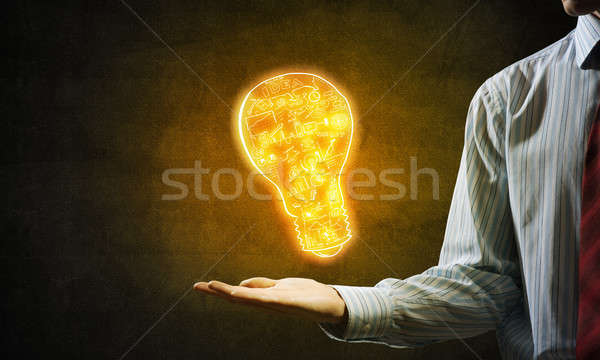 Bright idea for success achieving Stock photo © adam121