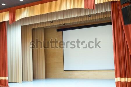 Film színház kép mozi auditórium film Stock fotó © adam121