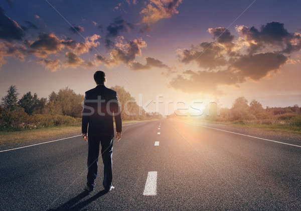 Road to success Stock photo © adam121
