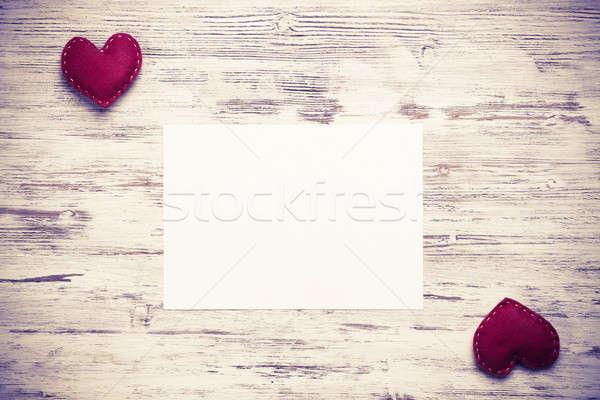 Love message or invitation Stock photo © adam121