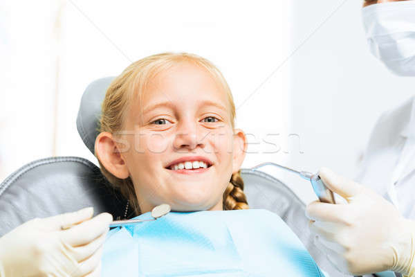 Oral cavity inspection Stock photo © adam121