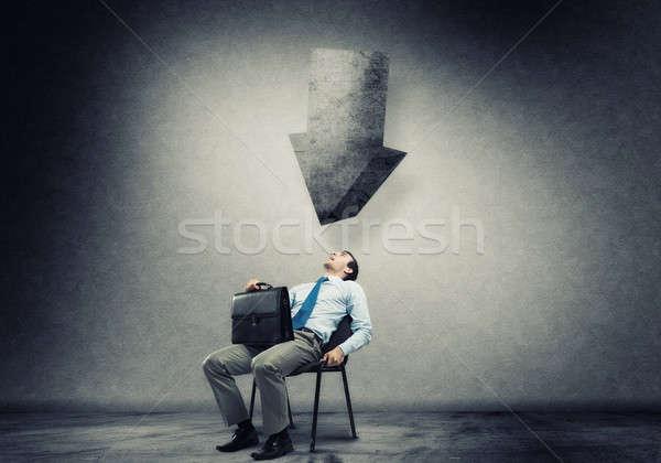Businessman under pressure Stock photo © adam121