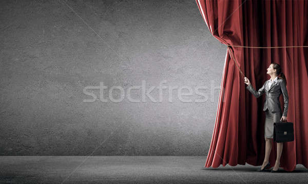 Clothing banner for text Stock photo © adam121