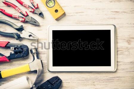 Make online service order Stock photo © adam121