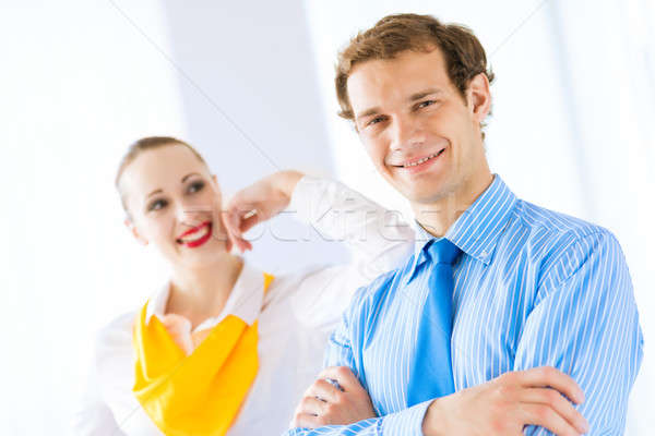 successful businessman Stock photo © adam121