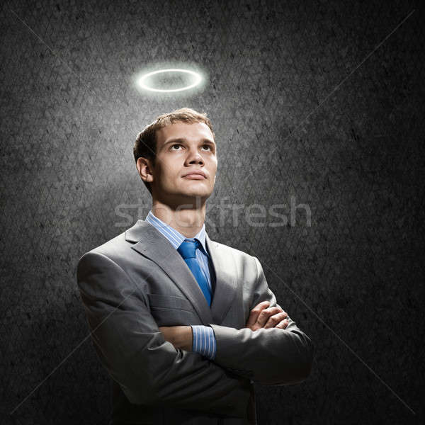 Saint businessman Stock photo © adam121
