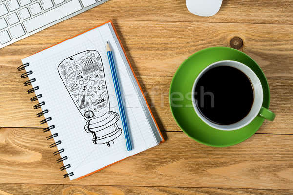 Coffee refreshment break Stock photo © adam121