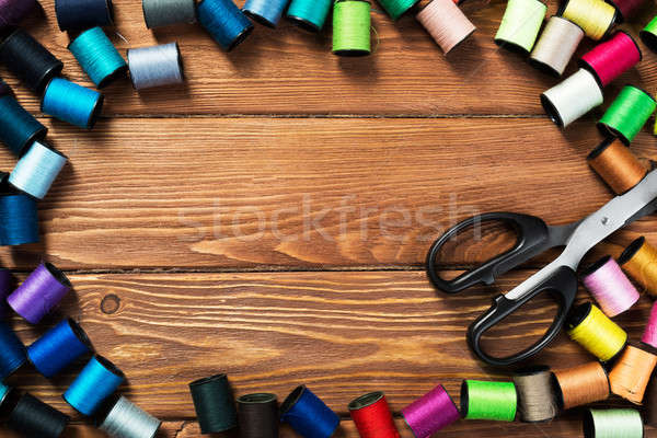 Items for sewing or DIY Stock photo © adam121