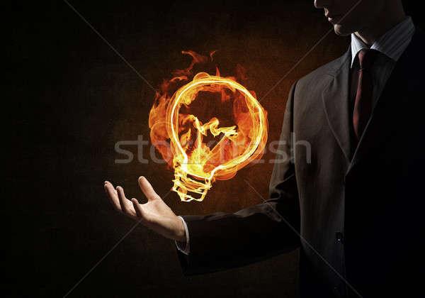 Idea of power and energy Stock photo © adam121