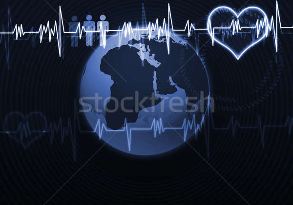 Heart care Stock photo © adam121