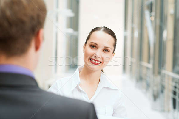 beautiful business woman Stock photo © adam121
