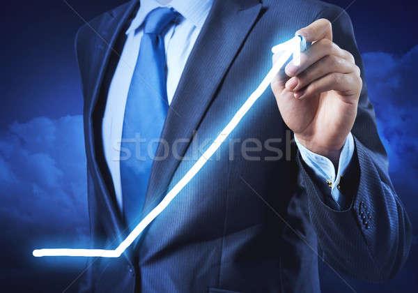 Growth and progress concept Stock photo © adam121