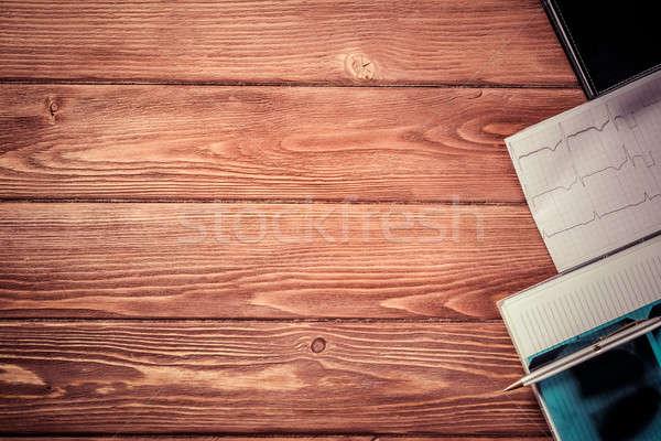 Stockfoto: Werkplek · gezondheid · werknemer · shot · medische