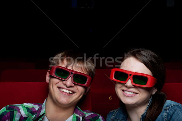 couple in cinema Stock photo © adam121