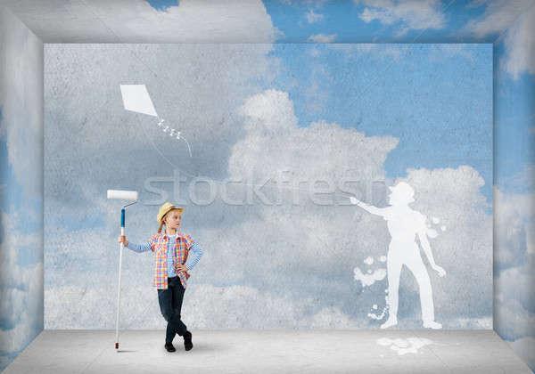 Happy childhood Stock photo © adam121