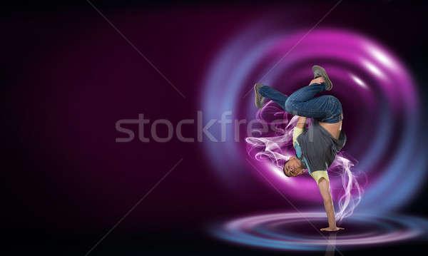Virtuoso dancer Stock photo © adam121
