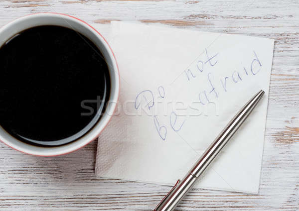Time for cup of coffee Stock photo © adam121