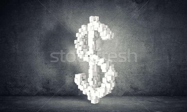 деньги большой доллара валюта знак Сток-фото © adam121