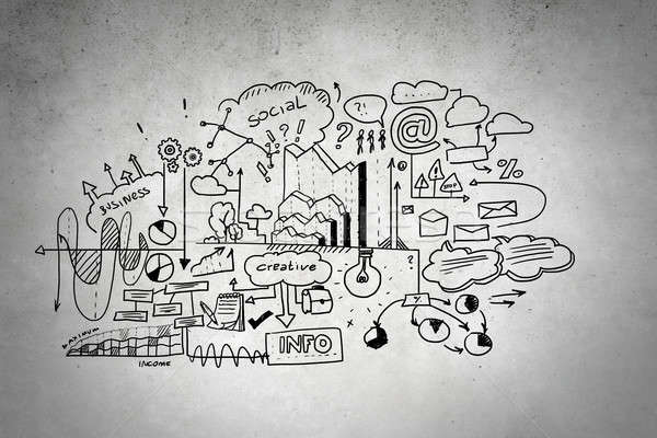 исследование бизнеса науки эффективный планирования конкретные Сток-фото © adam121