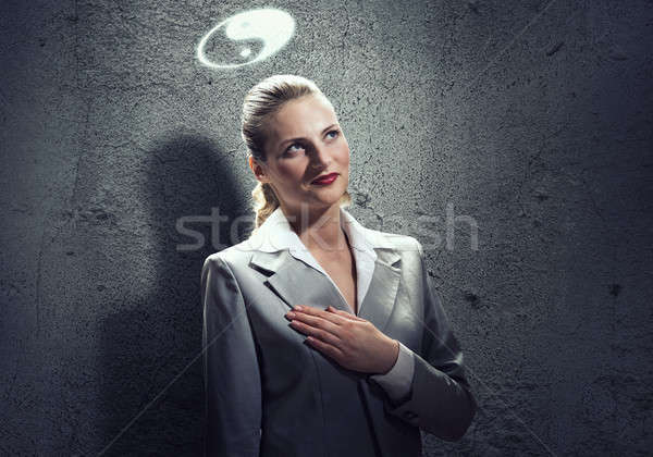 Yin yang philosophy Stock photo © adam121