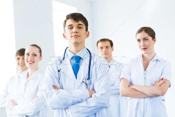 команда врачи опытный подходящий бизнеса Сток-фото © adam121