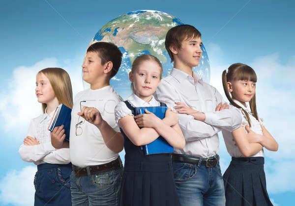 Stock fotó: Jövő · hivatás · gyerekek · iskola · kor · különböző