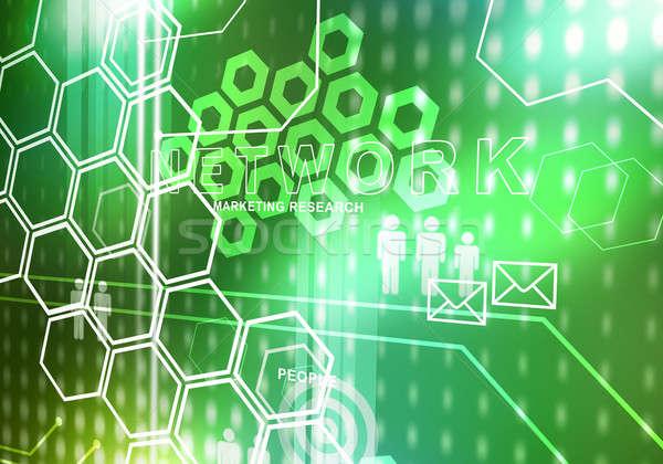 ストックフォト: 革新的な · 技術 · デジタル · 画像 · 現代