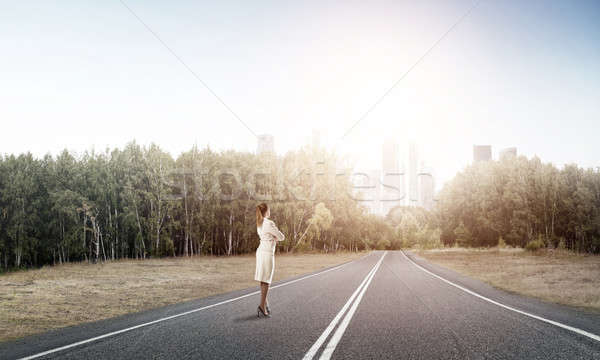 Stock photo: Your way to success