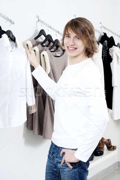 Man's shopping Stock photo © adam121